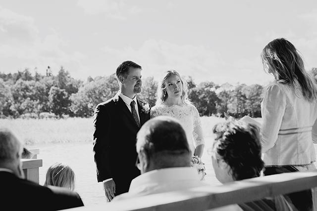 Sandras och Linus bröllop