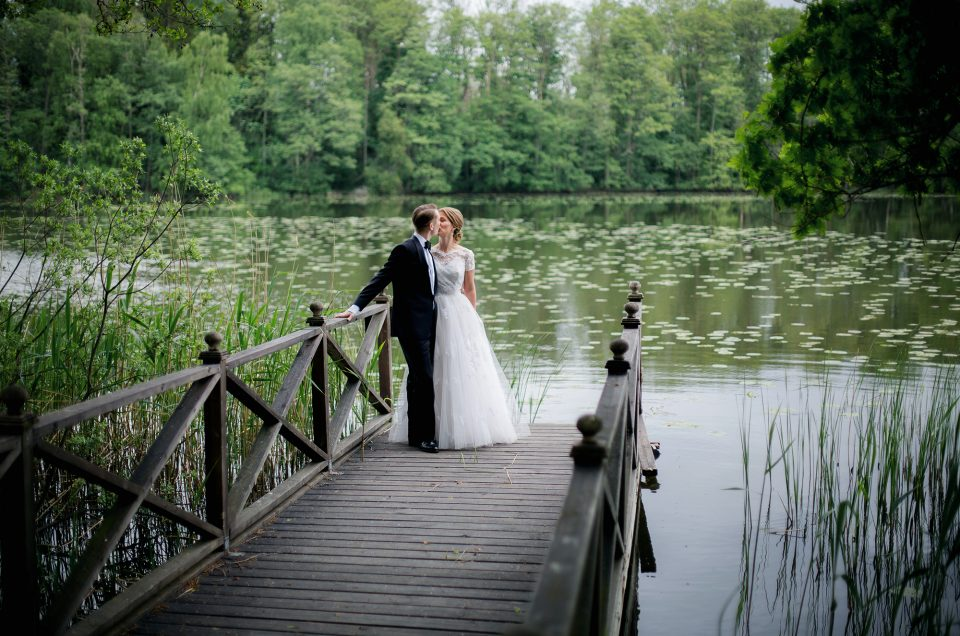 Glimtar från ett bröllop i maj