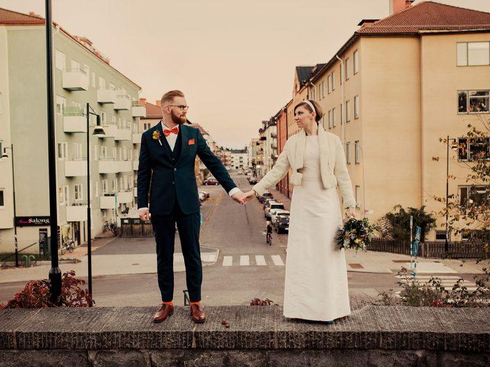 Lovisa & Magnus, bröllop i Sundbyberg