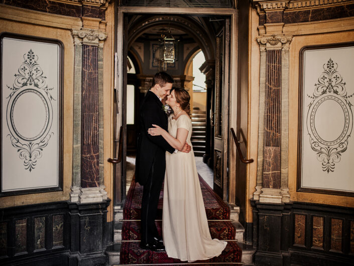 Siri & Johan, vintagebröllop i Stockholm