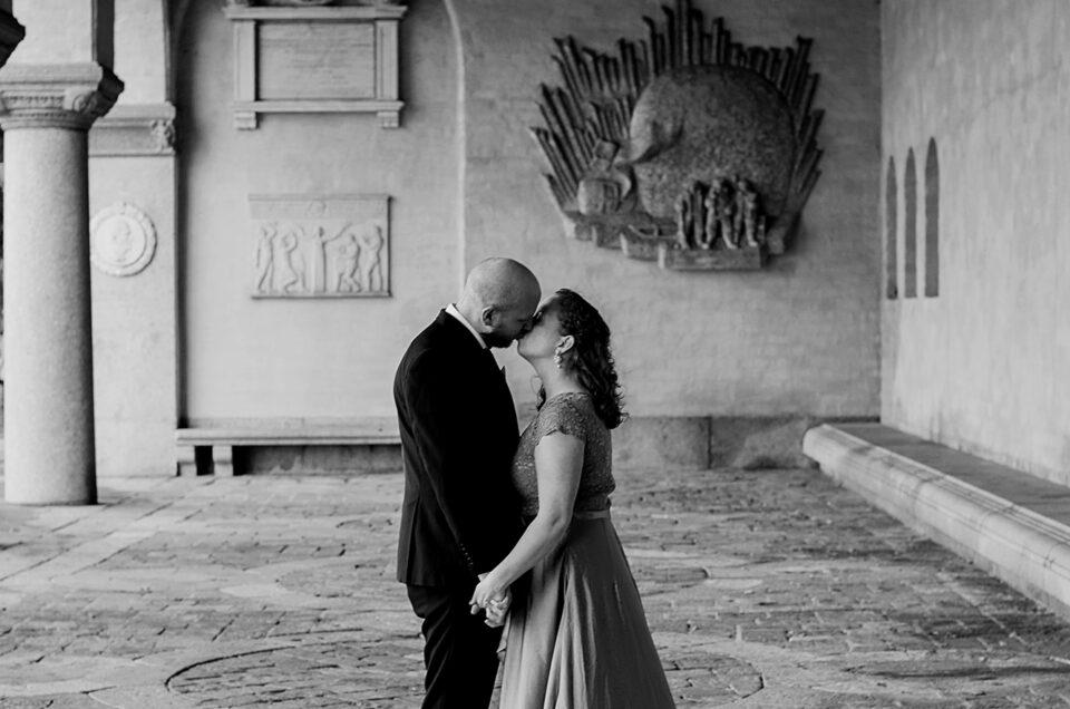 Kärleksfullt oktoberbröllop i Stadshuset