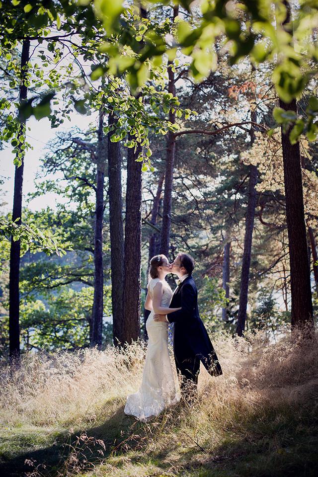 Jenny och Victors vackra bröllop