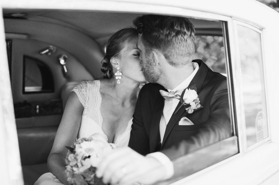 Lantligt Bröllop i Juni